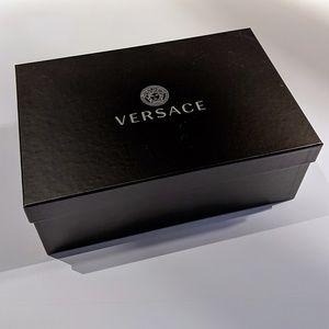 Versace Medusa Cardinal Sandals Men's Shoe Box